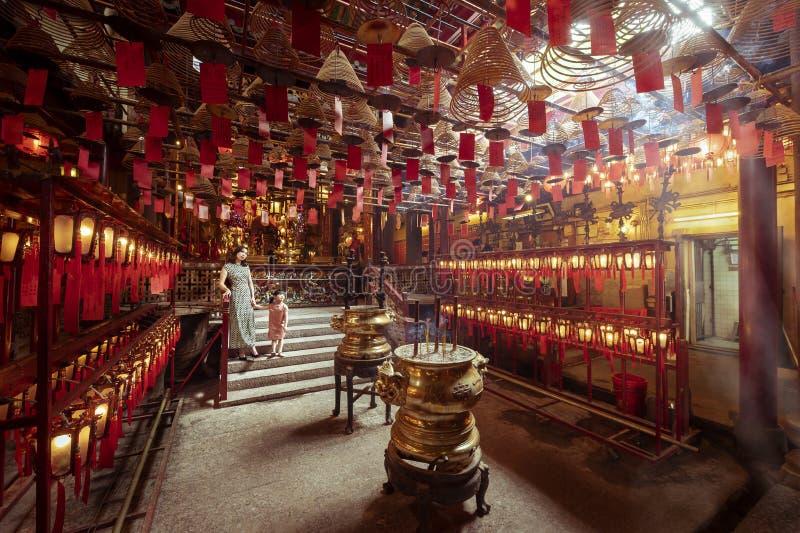 ?quipez le temple de MOIS, Hong Kong image stock