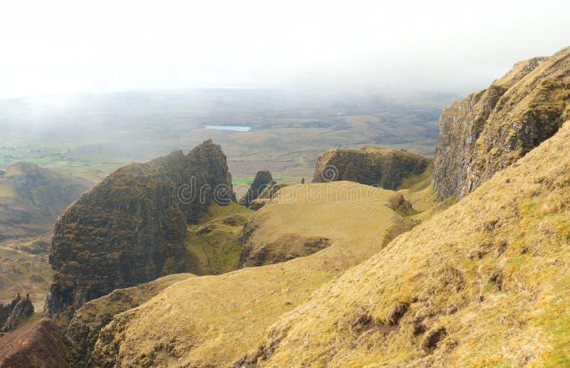 Quiraing en la isla de Skye fotografía de archivo libre de regalías