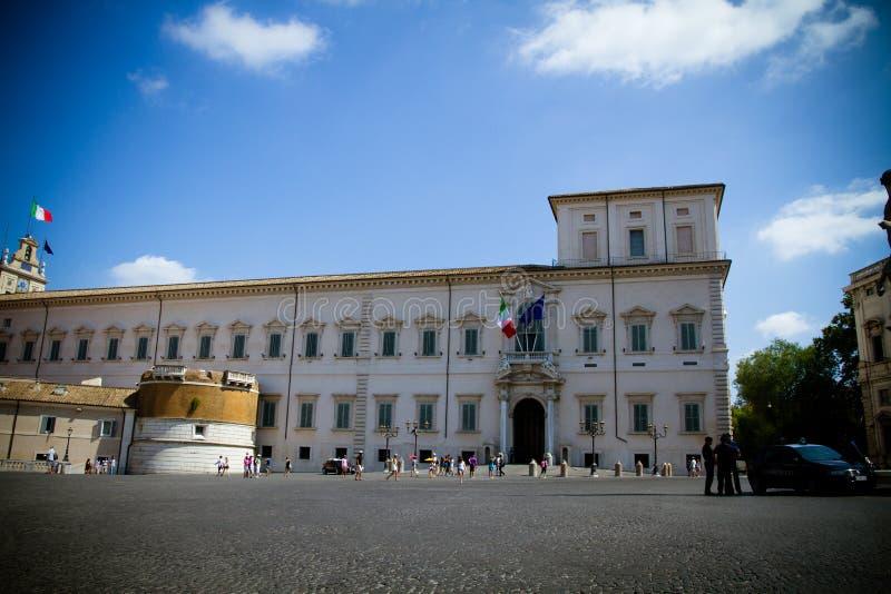Quirinal Palace, Rome royalty free stock image