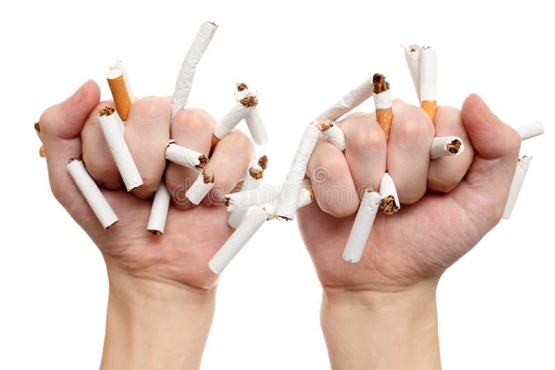 ¡Quit que fuma hoy! fotografía de archivo libre de regalías