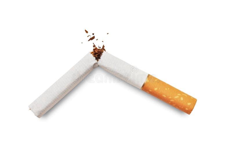 Quit Rauchen stockfotografie