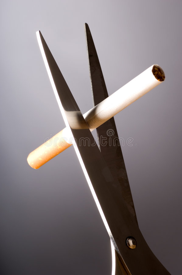 Quit smoking royalty free stock images