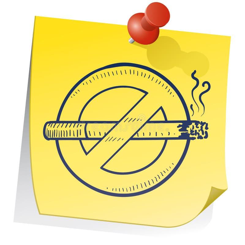 Quit Smoking Reminder Royalty Free Stock Photos
