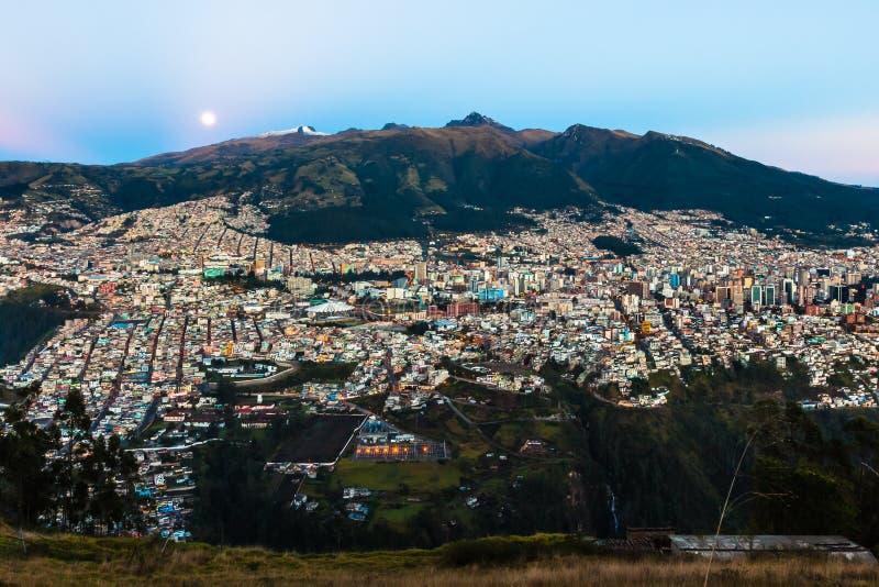Quito, capital de Ecuador imágenes de archivo libres de regalías