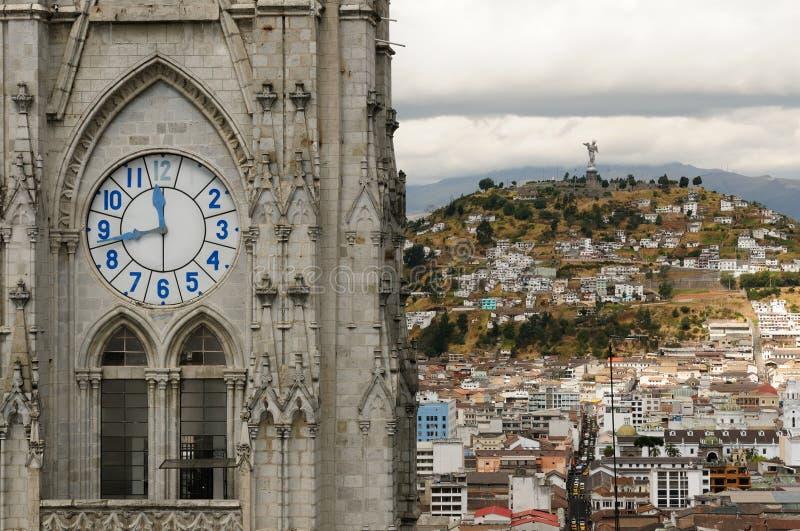 Quito, capital de Ecuador imagen de archivo