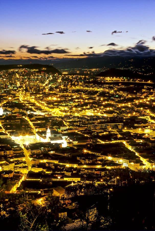 Quito du centre photographie stock libre de droits