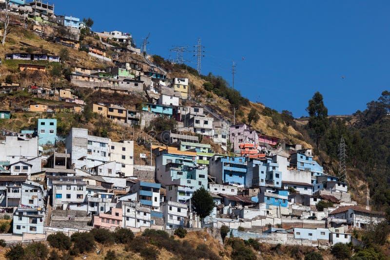 Quito Ecuador arkivfoto