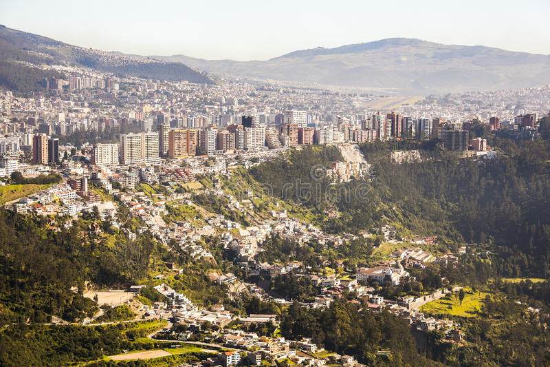 Quito, Ecuador fotografía de archivo