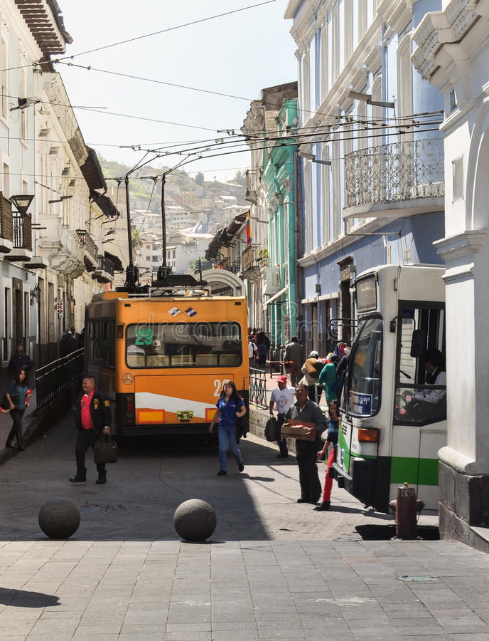 Quito, Ecuador fotos de archivo
