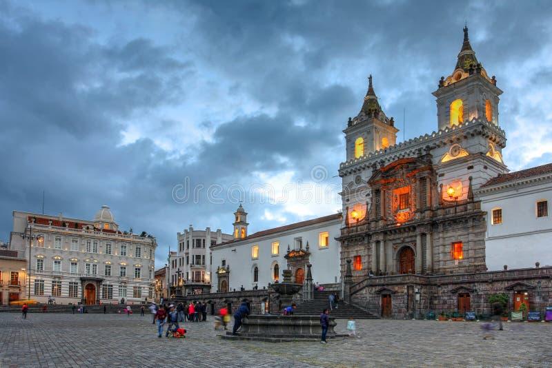Quito, Ecuador stock images