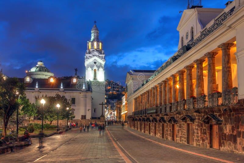 Quito, Equador fotografia de stock royalty free