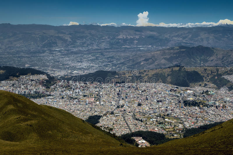 Quito, Equateur images stock