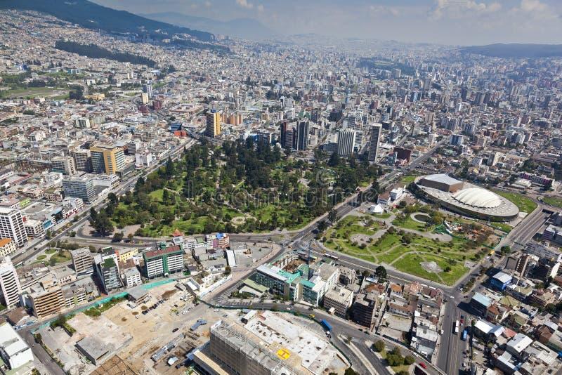 Quito, Gr Ejido, Huis van Ecuatoriaanse Cultuur stock afbeelding