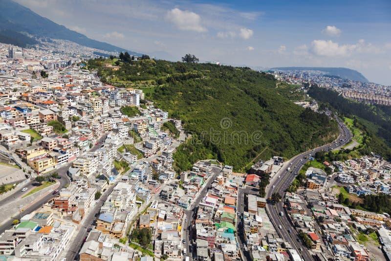 Quito ItchimbÃa parkerar fotografering för bildbyråer