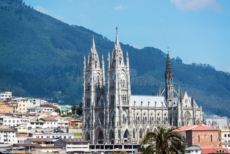 Quitobasilika arkivbilder