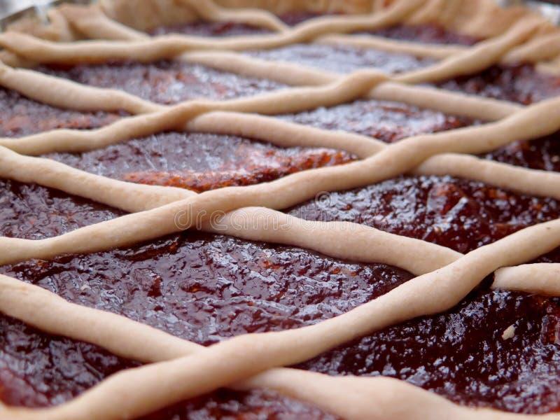 Quitten-Kuchen lizenzfreie stockfotos