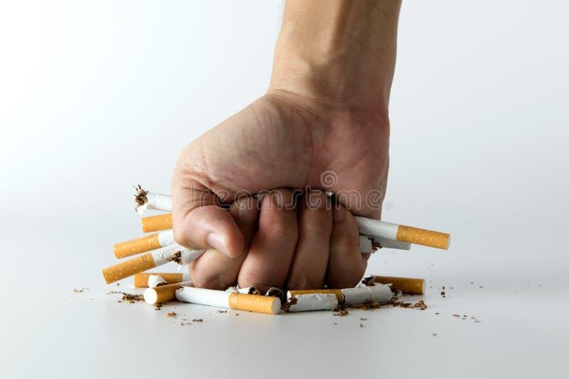 Quittez fumer et épargnez l'argent images stock