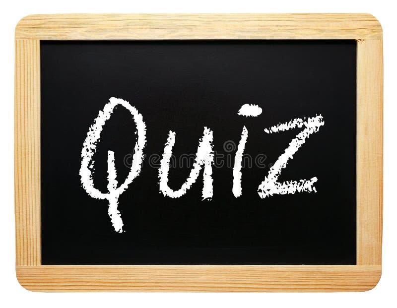 Quizu znak obraz royalty free