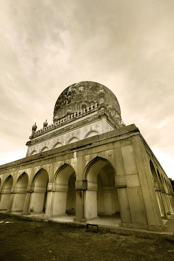 Quli Qutb Shahi Tombs stock photos