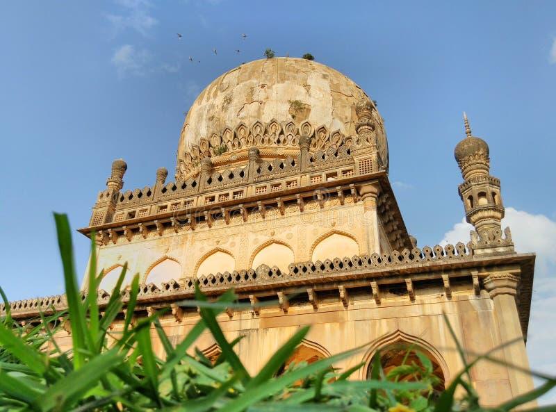 Quli Qutub Shahi grobowowie obraz royalty free