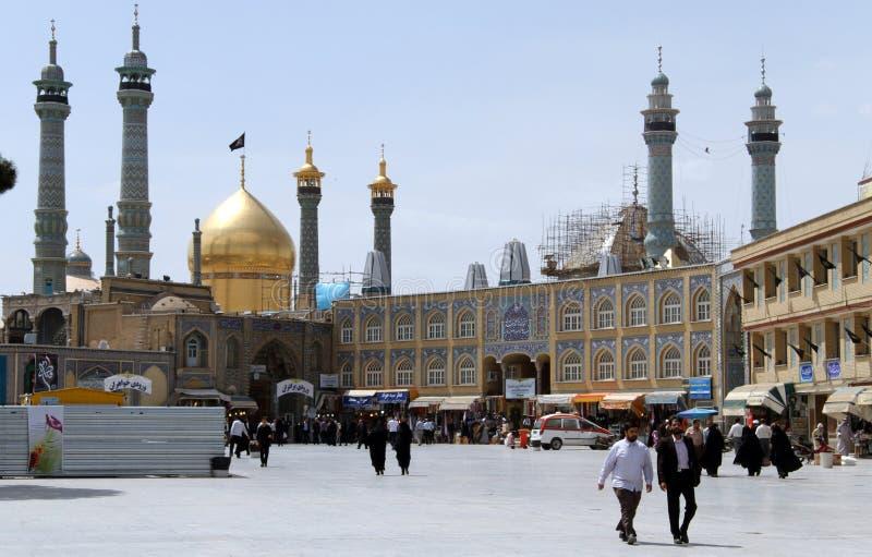Qum im Iran lizenzfreie stockfotografie