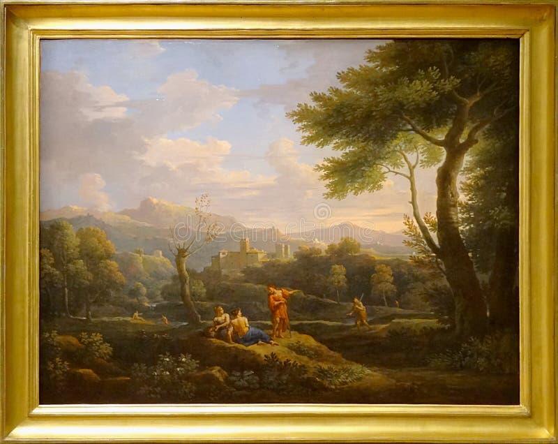 """""""paysage D'italie"""", Jan Frans Bloemen, Dit L'orrizonte. Musée Du Petit Palais, Paris. Free Public Domain Cc0 Image"""