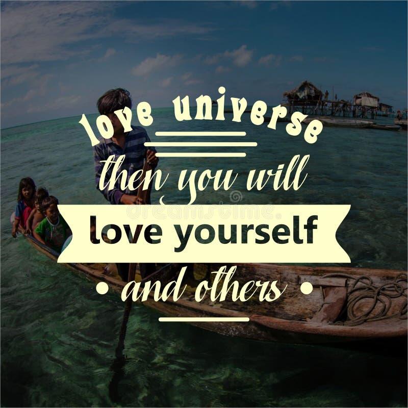 quote Вдохновляющий и мотивационный о жизни, стоковые изображения
