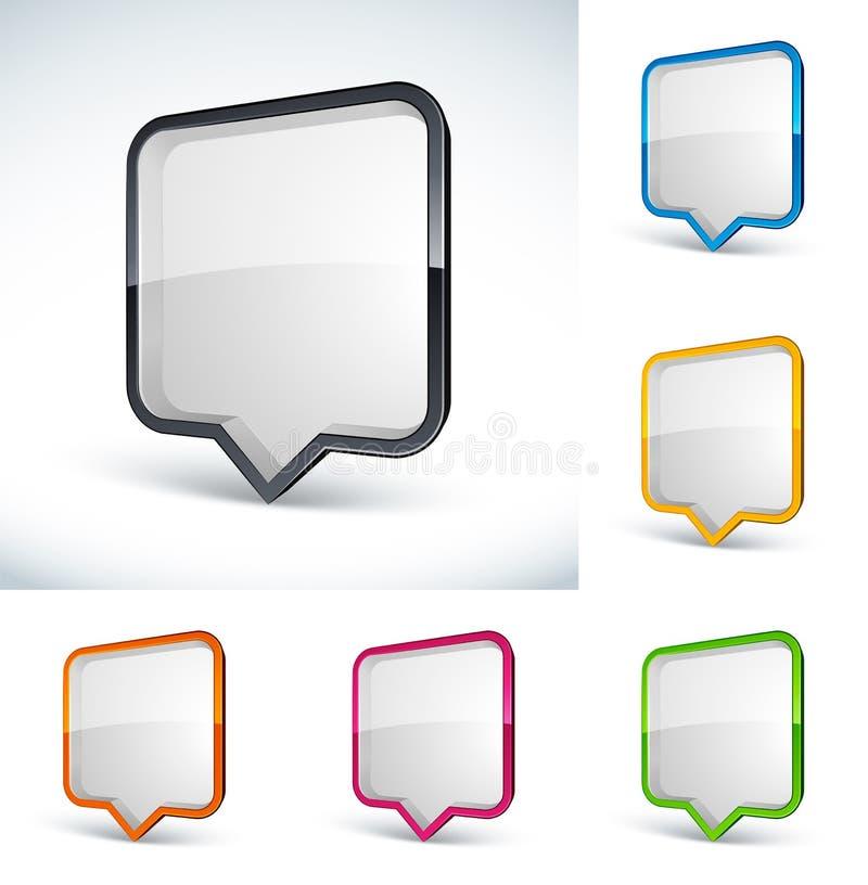Quote Bubbles Stock Images
