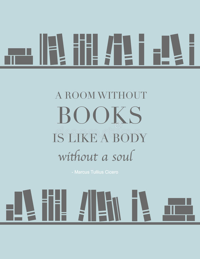 A Room Without Books Is A Body Without Soul Meaning