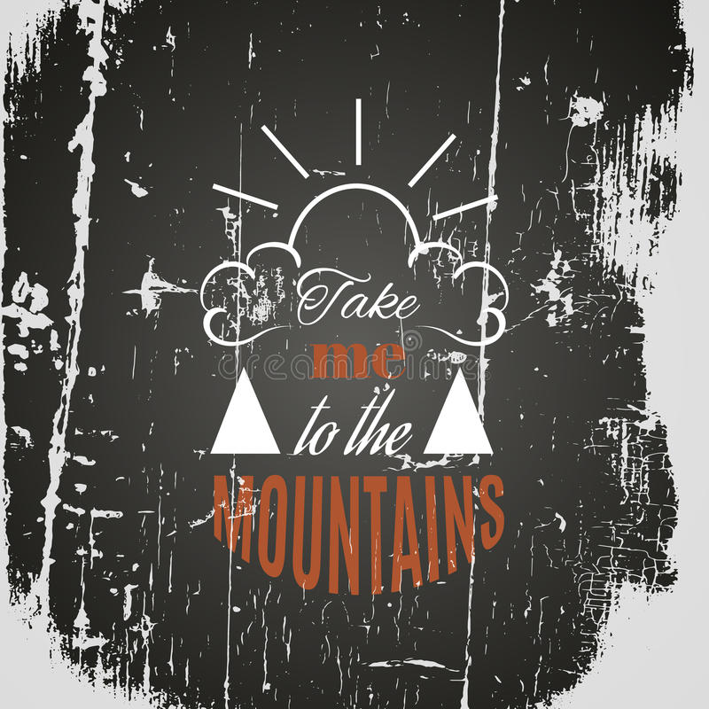 Quote typographical background royalty free illustration