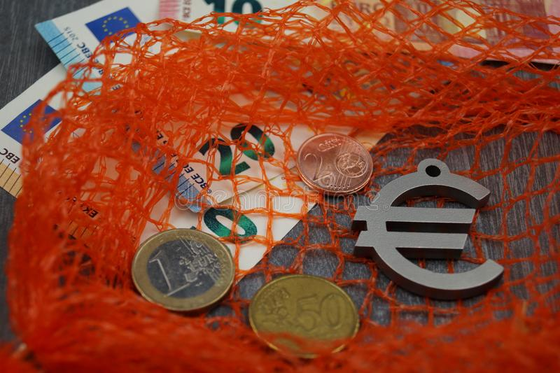 European fishing law. Quotes and laws for the professional fish catching in the european community royalty free stock photo