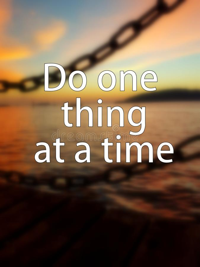 Quotes for simple thing in life royalty free stock photo
