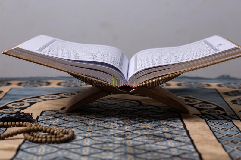 Quran And Tasbih Stock Image Image Of Prayer Muslims