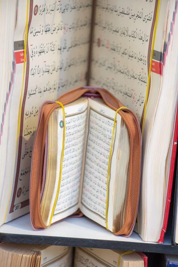 Quran islámico del libro sagrado fotos de archivo libres de regalías