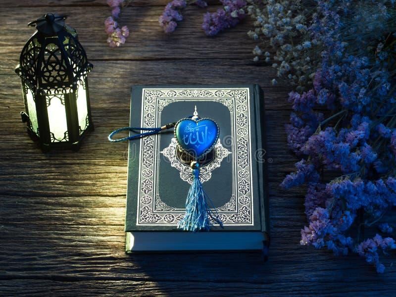 Quran o Kuran, el libro sagrado islámico, foto de archivo libre de regalías