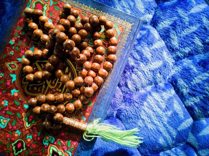 Quran santo del concepto- islámico fotografía de archivo