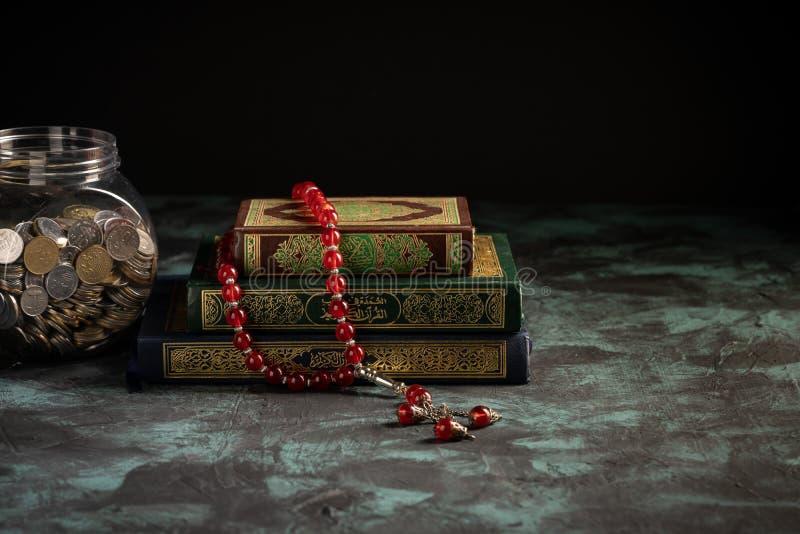 quran tasbih jar full coins zakat concept quran tasbih jar full coins 170461734