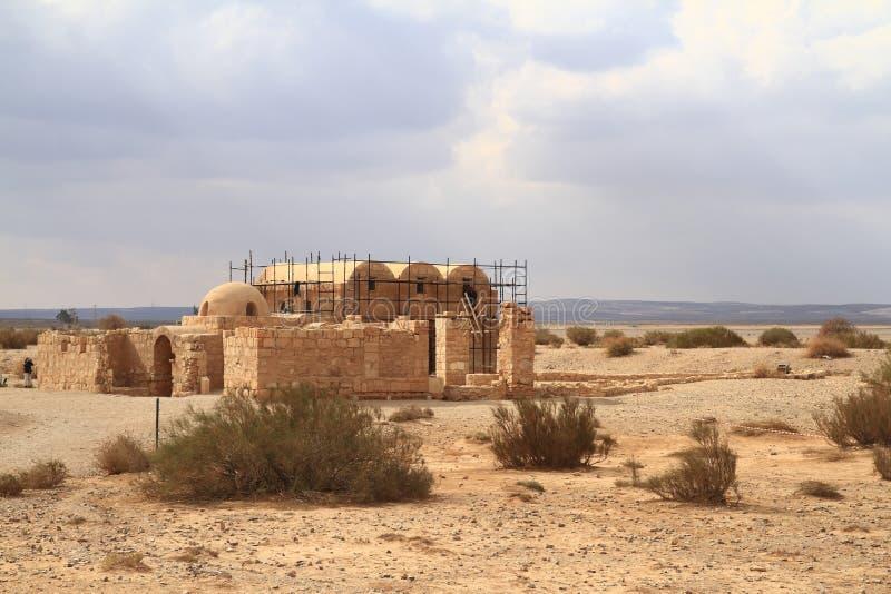Qusair Amra foto de archivo libre de regalías