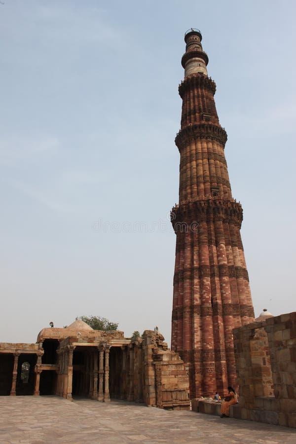 Qutab Minar Delhi photo stock