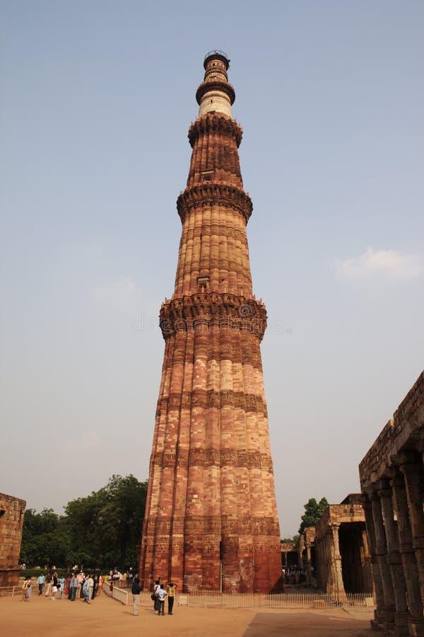 Qutab Minar, la Nouvelle Delhi image stock