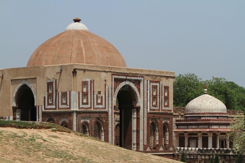 Qutab Minar in New Dehli Indien lizenzfreies stockfoto
