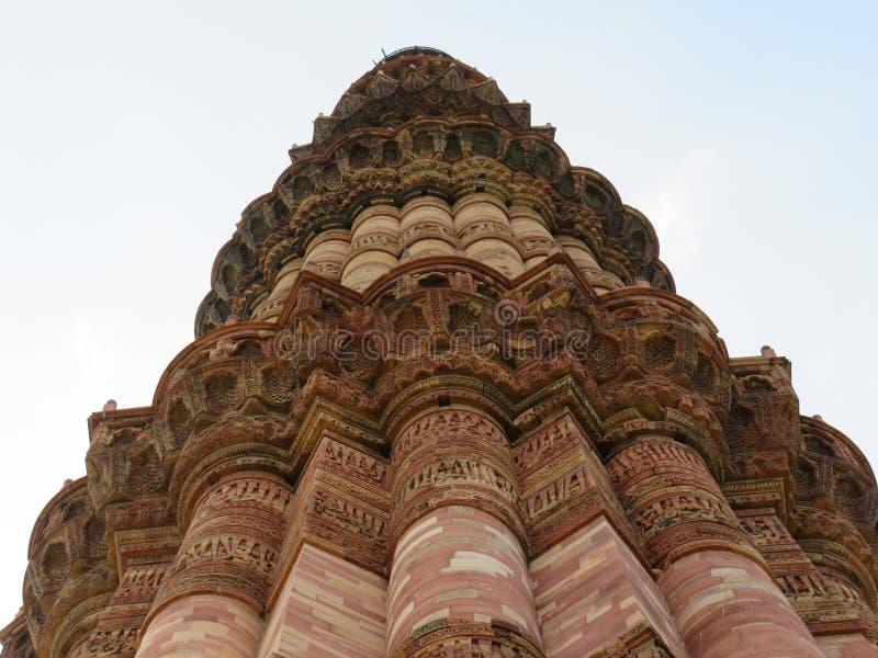 Qutb Minar fotos de stock royalty free