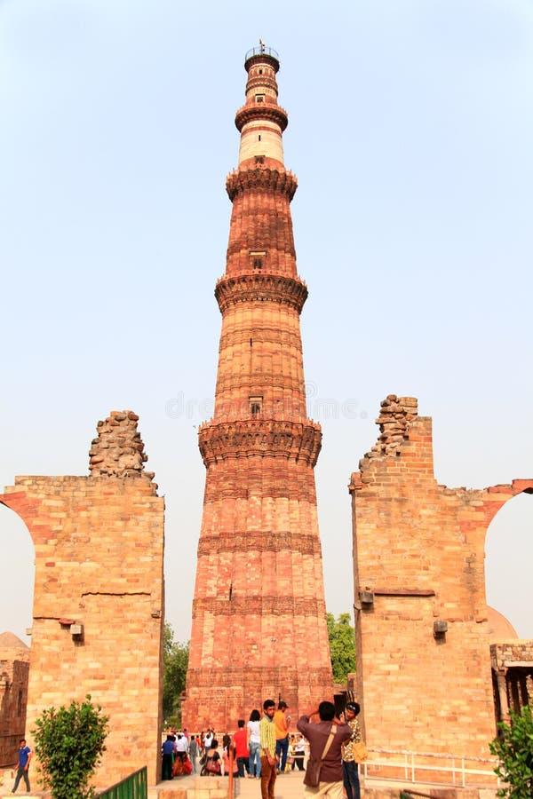 qutb minar zdjęcia stock
