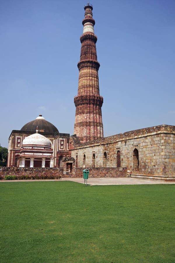 qutb minar obraz royalty free