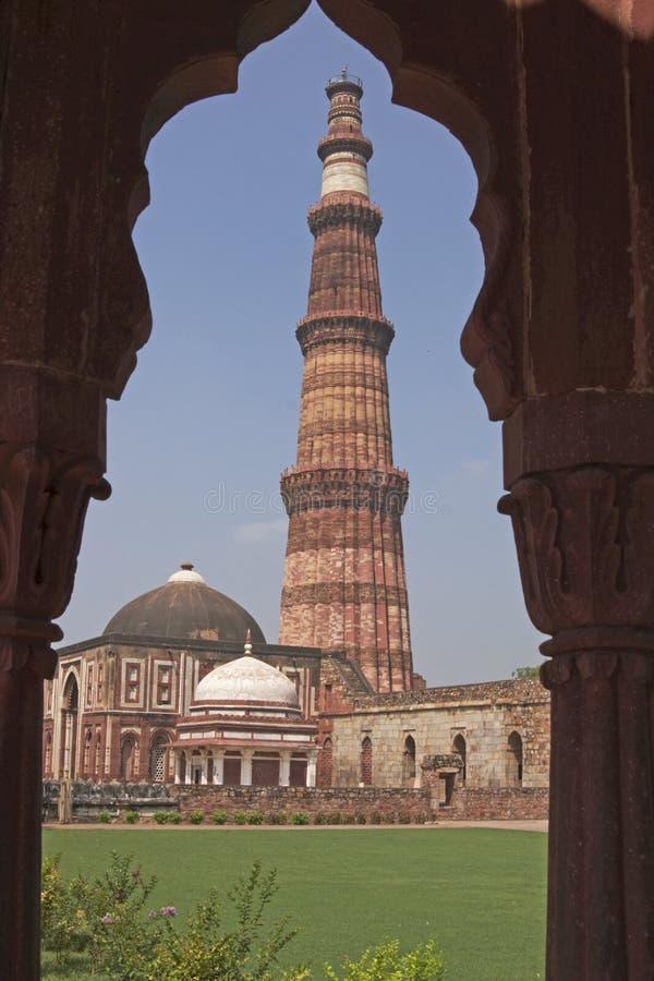 qutb minar obrazy royalty free