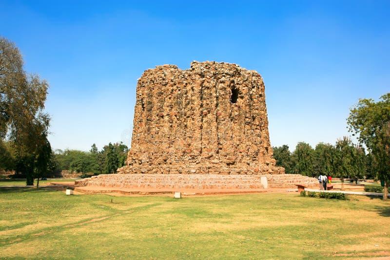 Download Qutb Minar Ruins In The City Of Delhi Stock Image - Image: 12340487