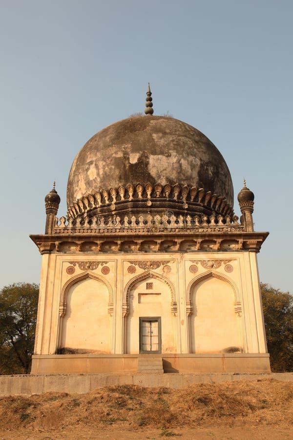 Qutb Shahi Gräber, Hyderabad stockfotos