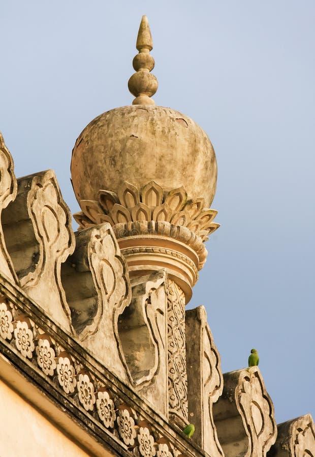 Qutb Shahi gravvalv i Hyderabad, Indien arkivbilder