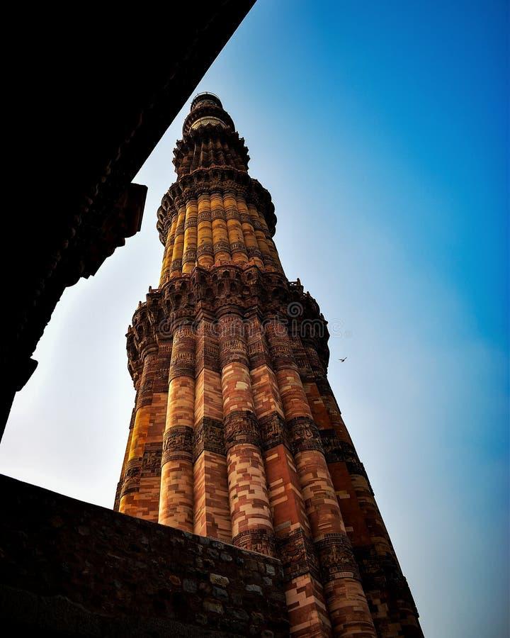Qutub Minar fotografia stock libera da diritti
