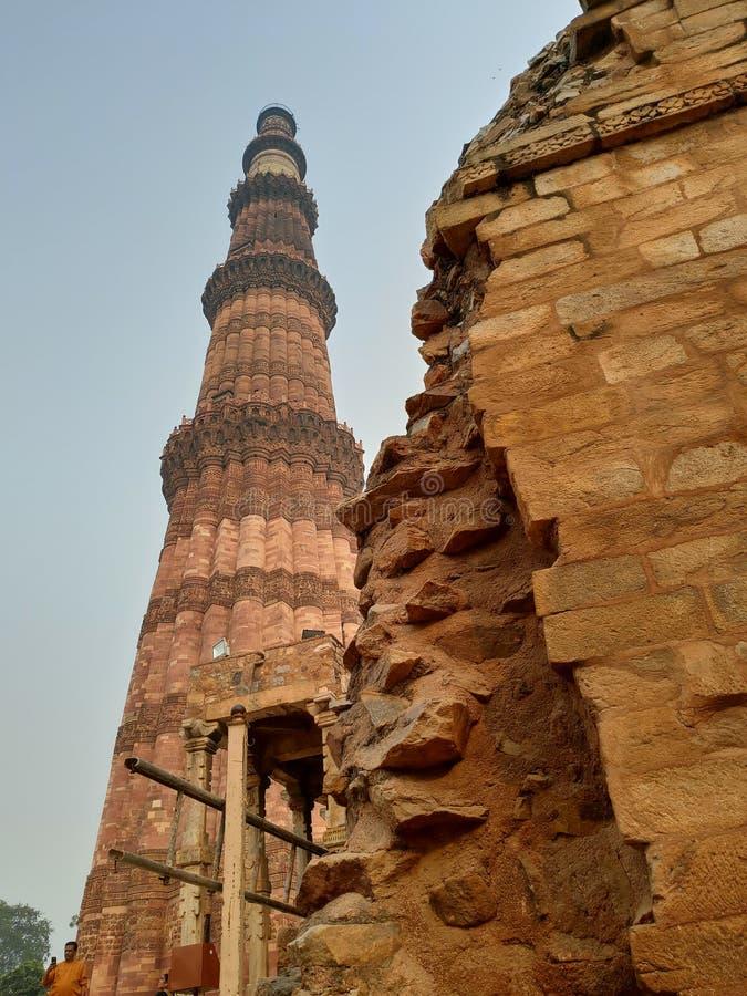 Qutub Minar immagini stock libere da diritti